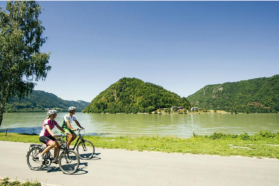 Donauradweg, OÖ Tourismus, Radweg