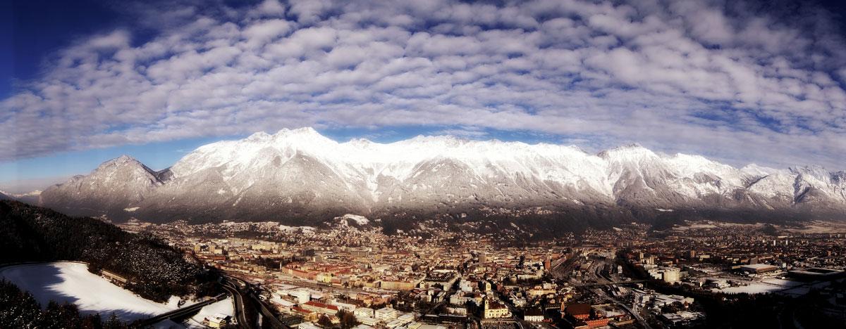 Silvester Locations Aussicht Bergisel Innsbruck