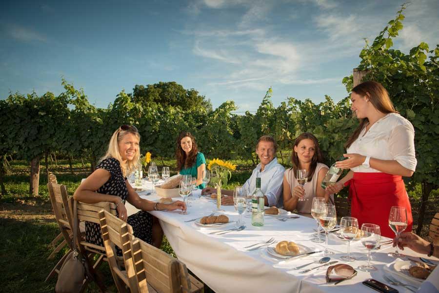 Niederösterreich Tourismus Kultur Genuss Tafeln Weinviertel