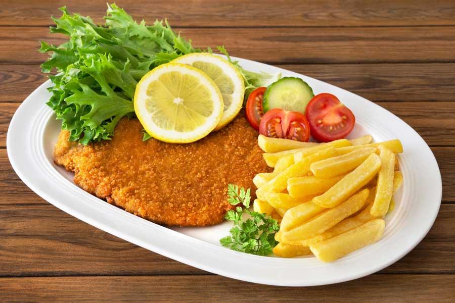Lebensmittel Gastronomie Abfallvermeidung Schnitzel