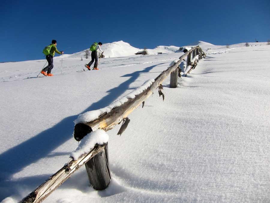 Schutz vor Lawinengefahr Alpenverein Skitour