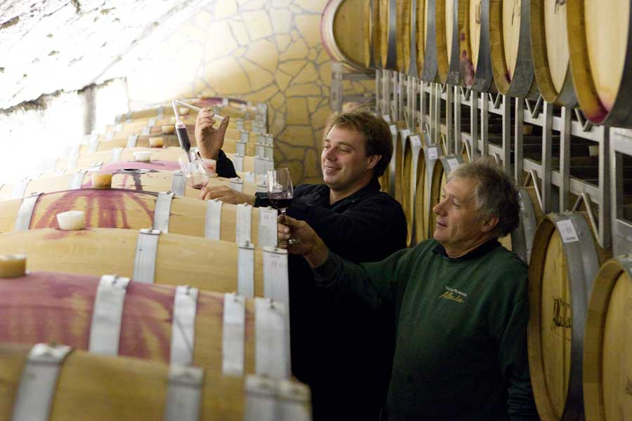 Pannonischer Wein Allacher Weinkeller