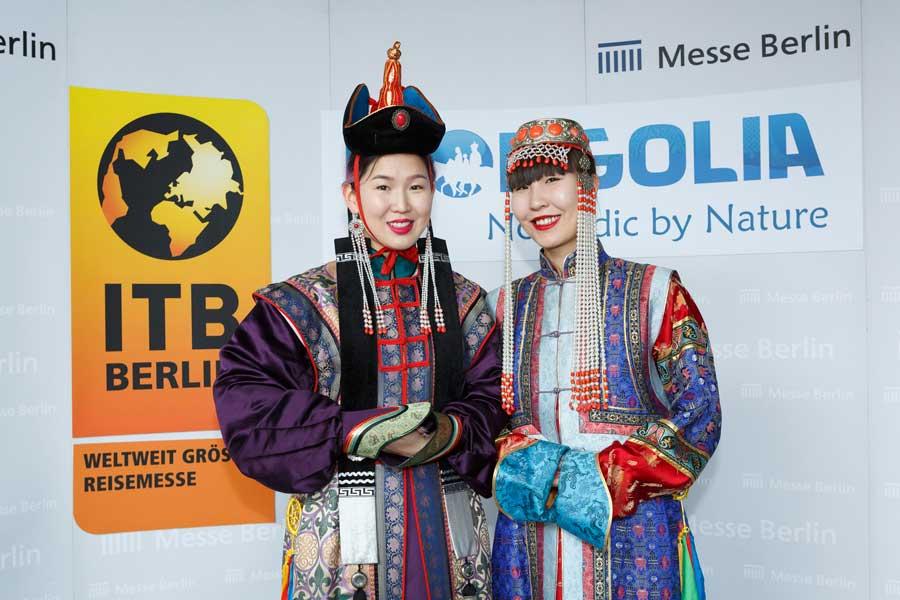 ITB Österreich zu Gast in Berlin Mongolei