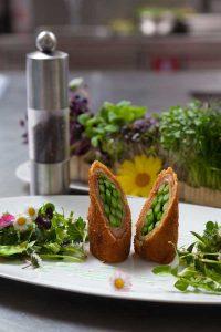 Spargel gebacken Rezept Cuisino Velden Vanic