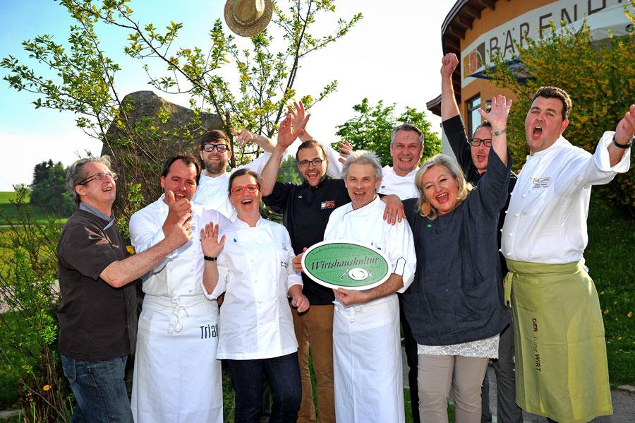 Koch-Spektakel beim Top-Wirten Sieger Gruppenbild