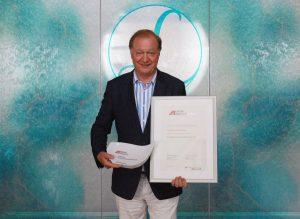 Auszeichnung für Hotel Larimar Johann Haberl Exportpreis