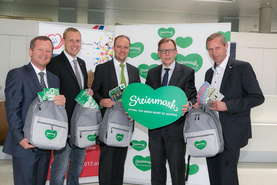 Startschuss Special Olympics Steiermark