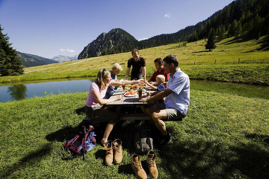 Sommerurlaub mit Familie St. Martin im Tennengebirge