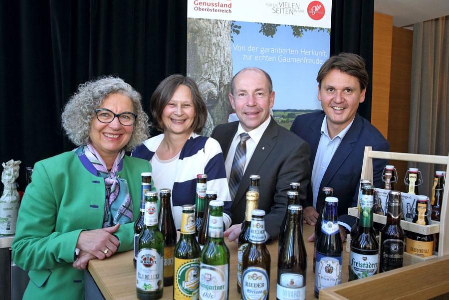Bier als Aushängeschild Oberösterreichs