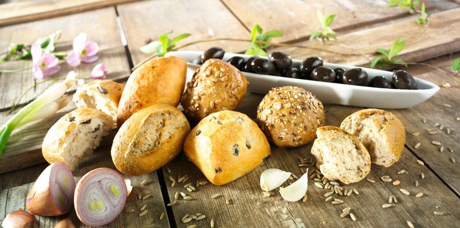 Tiefkühl Backwaren für die Gastronomie Weckerlkiste EDNA