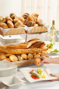 Tiefkühl Backwaren für die Gastronomie Knuspersortiment