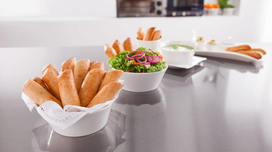 Tiefkühl Backwaren für die Gastronomie Dip-Sticks