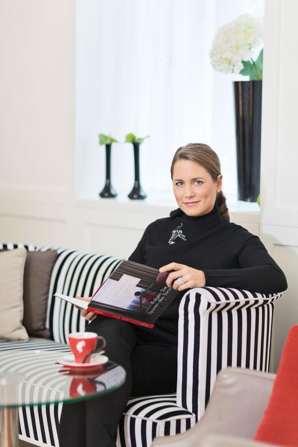 Hotel Guide in Buchform Harmonie Vienna Sonja Wimmer