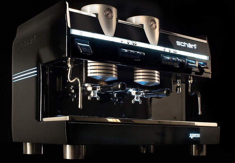 Espressomaschine Schärf Gast Messe Xpress Vienna