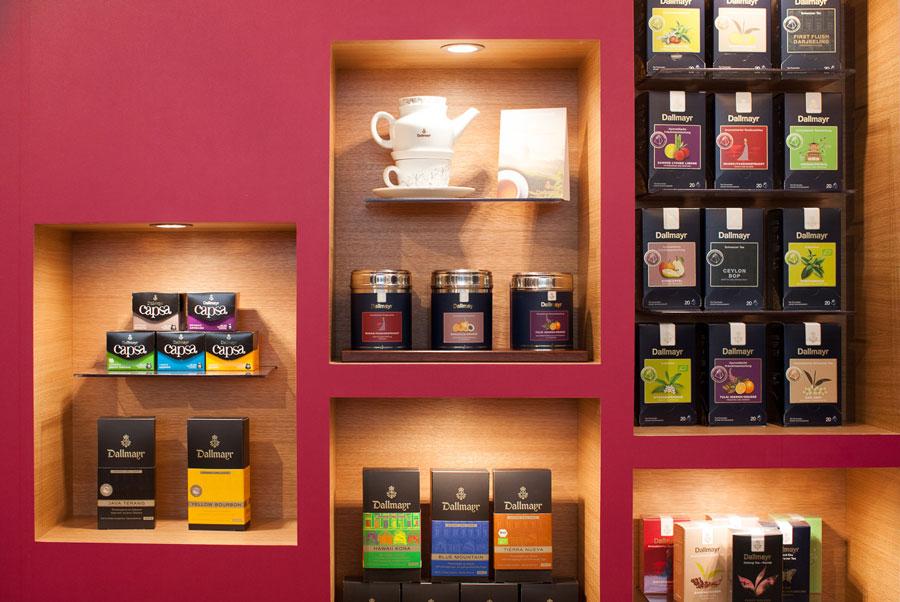 Kaffee und Tee von Dallmayr Gast Messe