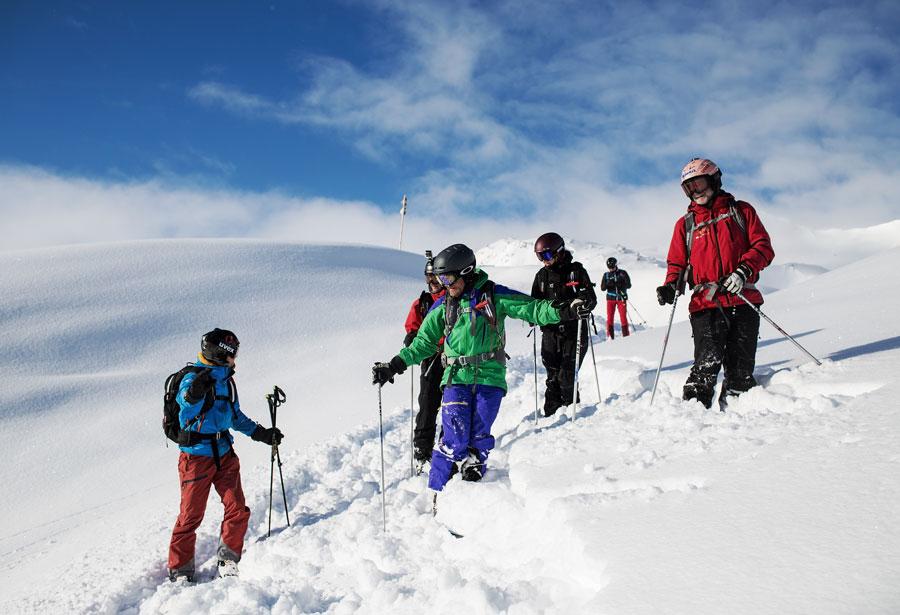 Vorarlberg auf Skiern kennenlernen
