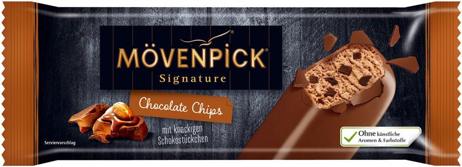 Speiseeis für Gastronomie Signature Chocolate Chips-Stick