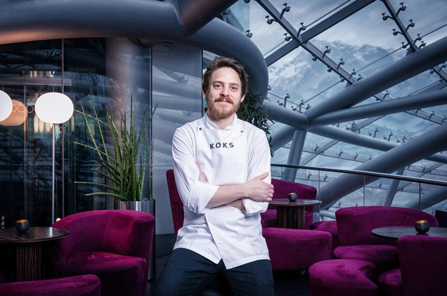 New Nordic Cuisine im Restaurant Ikarus Gastkoch Februar