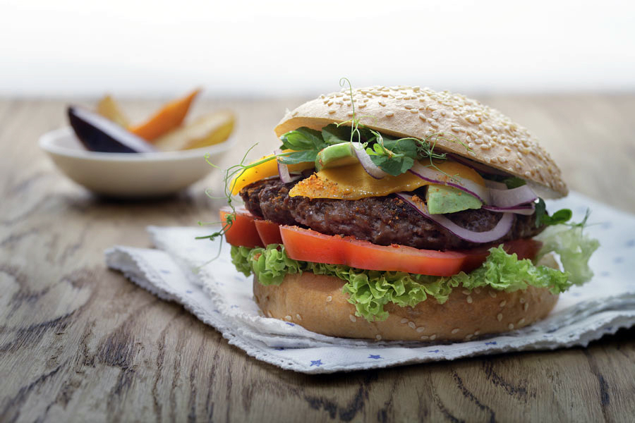 Wiberg Neuheiten auf der Internorga Burger Mix Spicy