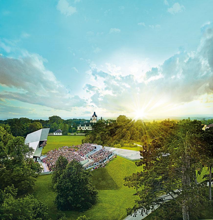 Tor auf zum Kultur- und Weinfrühling NÖ Grafenegg Foto Alexander Haiden