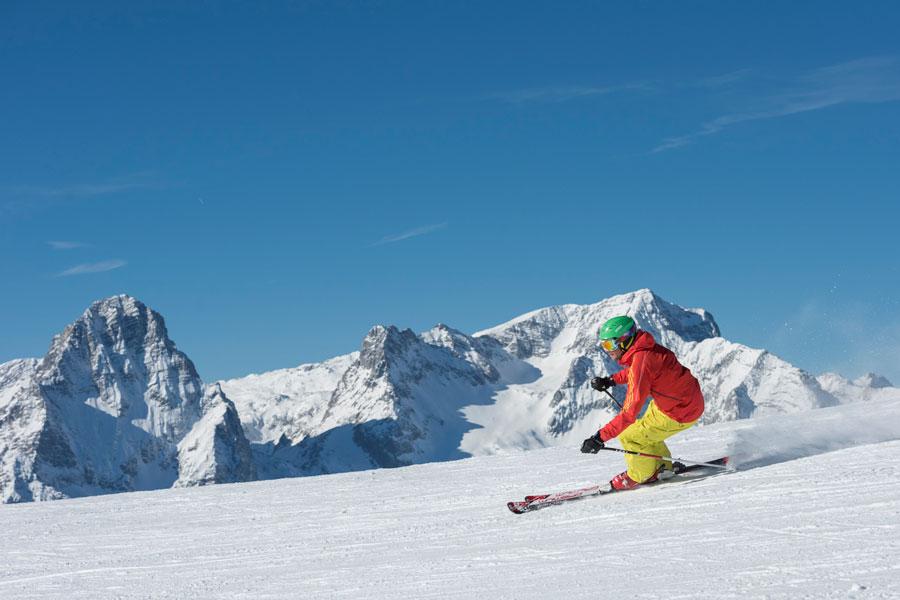 Wintertourismus Zwischenbilanz OÖ Hinterstoder Skifahrer