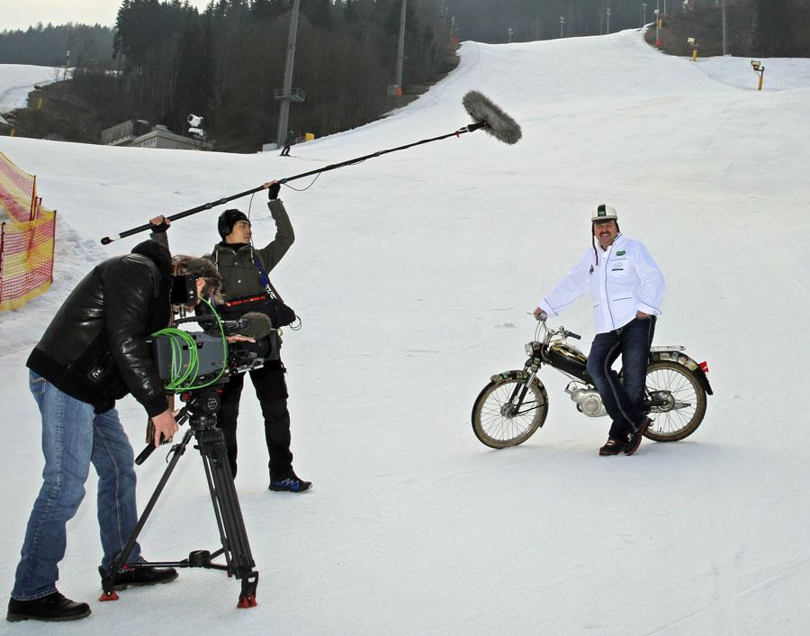 Schlemmerreise Steiermark auf Moped Lafer-Dreh Planai März