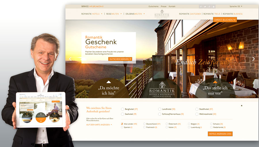 Romantik Hotel Informationsoffensive Thomas Edelkamp