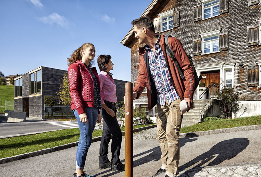 Spannende Architektur im Bregenzerwald