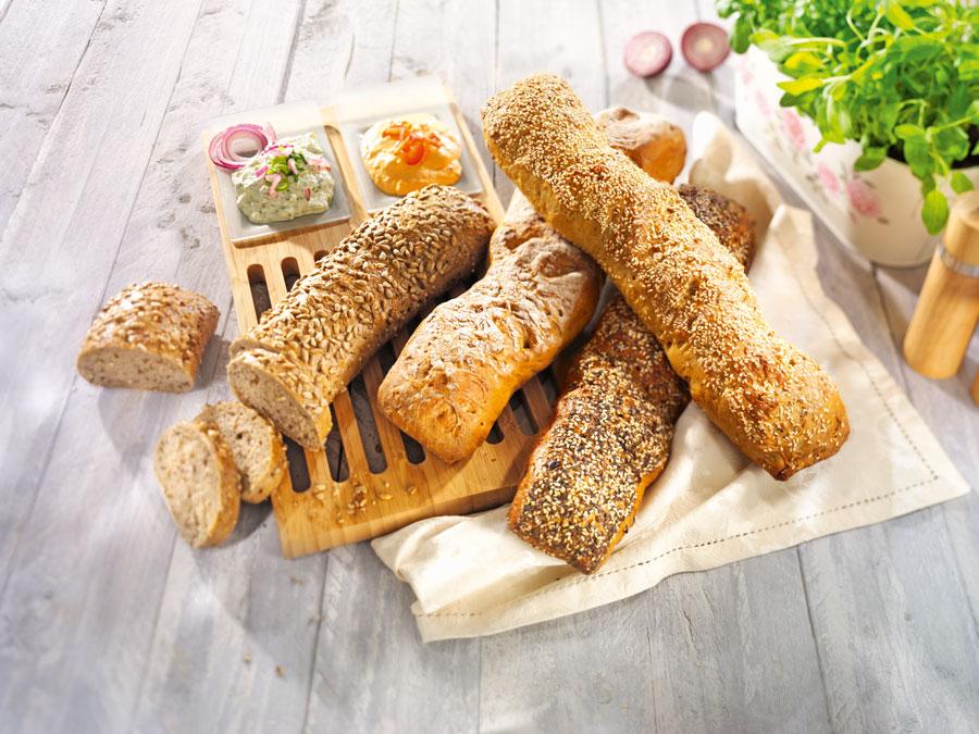 Food-Trends Brotvariationen für Gastronomie Wurzelbrot