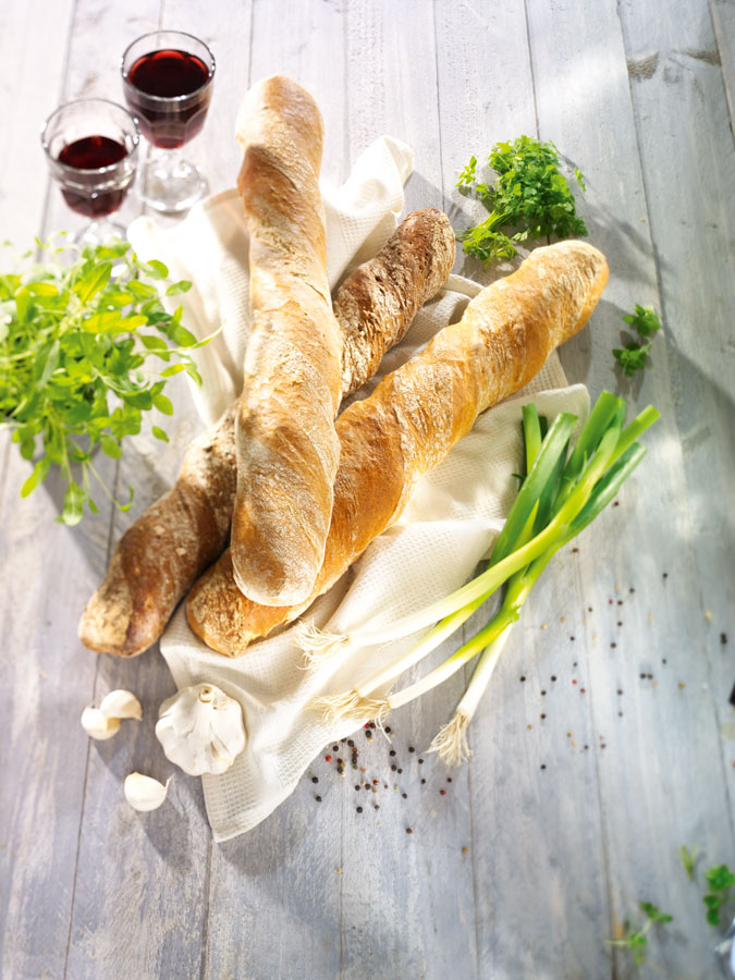 Food-Trends Brotvariationen für Gastronomie Gastrobaguette