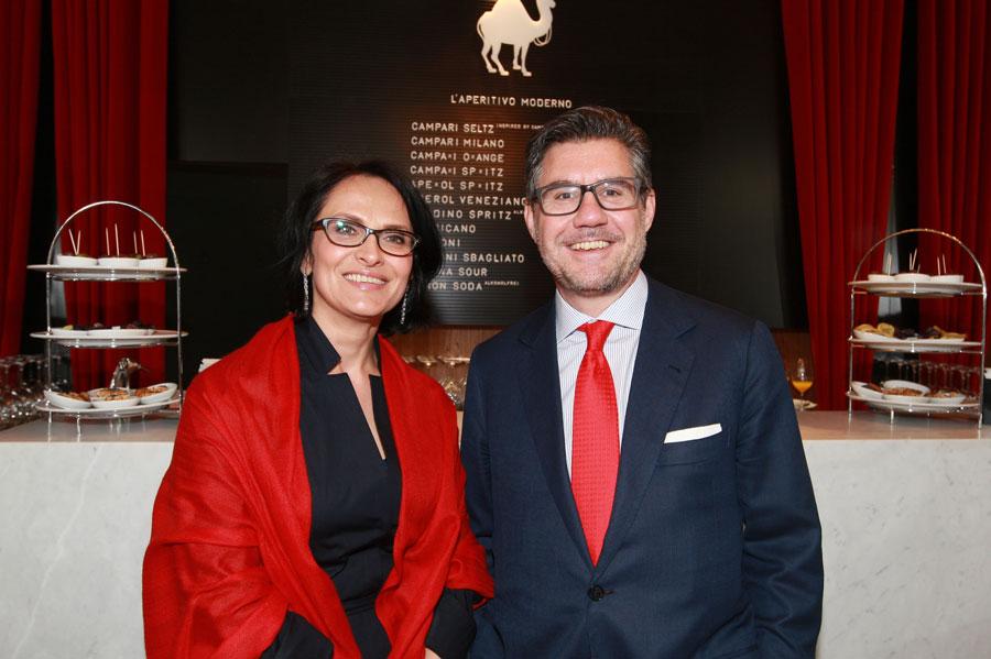 VIP-Opening der Bar Campari in Wien