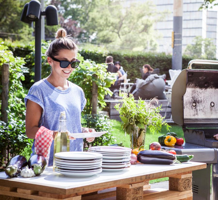 Gartensaison im Hotel Daniel Vienna