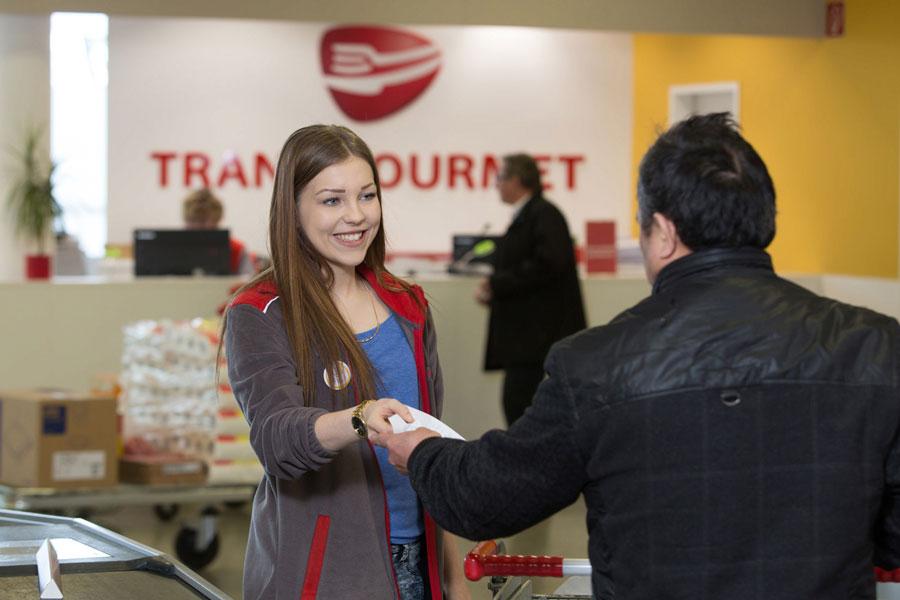 Gastronomie Großhandel Transgourmet Checkout klein