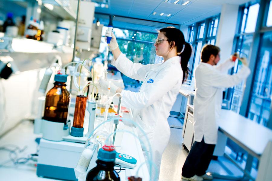 Seifen und Waschmittel Gastronomie Forschung im eigenen Haus
