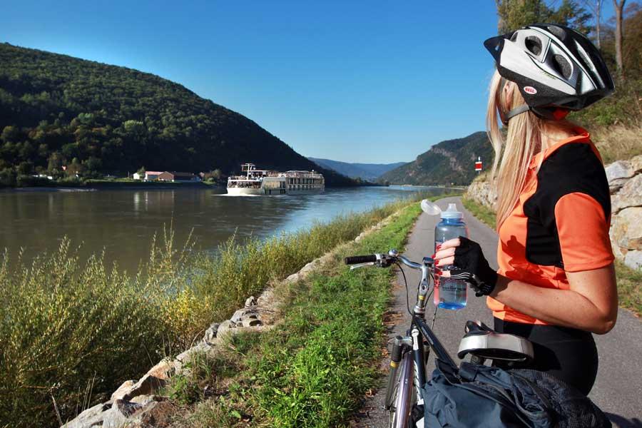 Radangebote in Niederösterreich Donauradweg