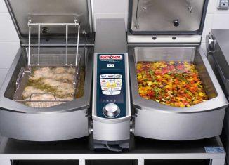 Platzsparende Küchentechnik für die Gastronomie