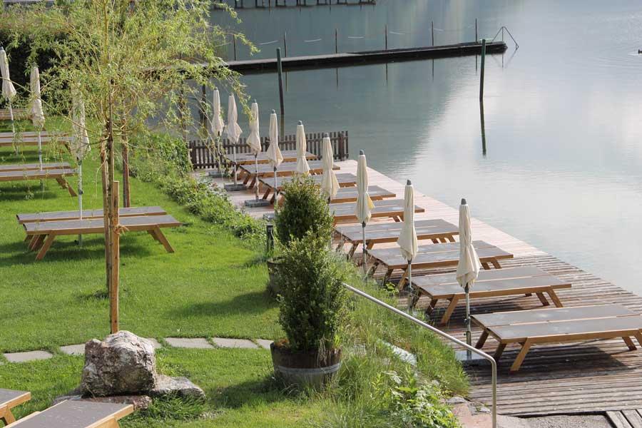 Hotel Seevilla neue Liegewiese