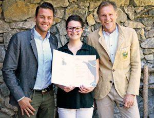 Karriere mit Lehre im Alpine Lifstyle Hotel Jungbrunn Marcel-Gutheinz,-Elisa-Hauser,-Markus-Gutheinz