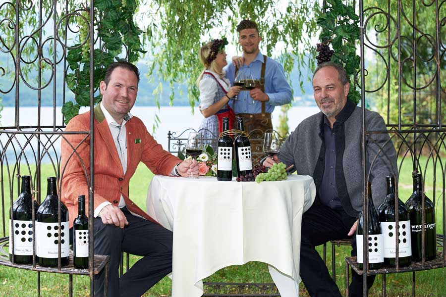 Romantik Hotels Wein Merlot Cabernet