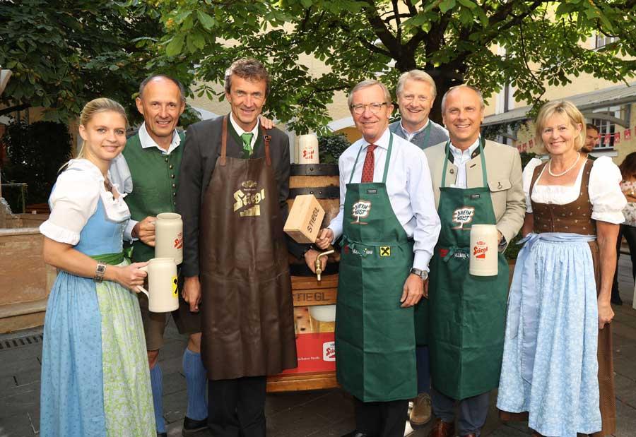 Stiegl-Herbst-Gold beim Salzburger Bauernherbst