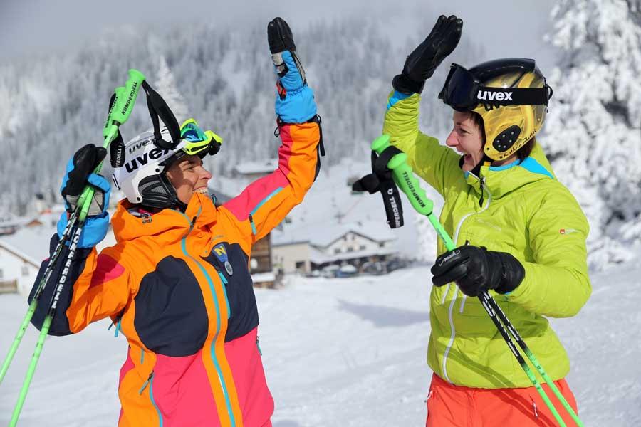 Firmen Incentives Skitage Dorfmeister Zettel
