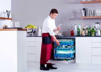 Profi-Spülmaschine mit Frischwasser-System von Miele