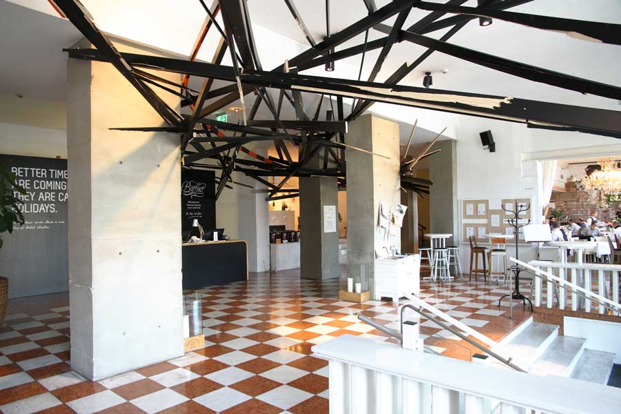 Neues Kunstwerk für Hotel Wiesler Graz Wiesler Clemens Hollerer