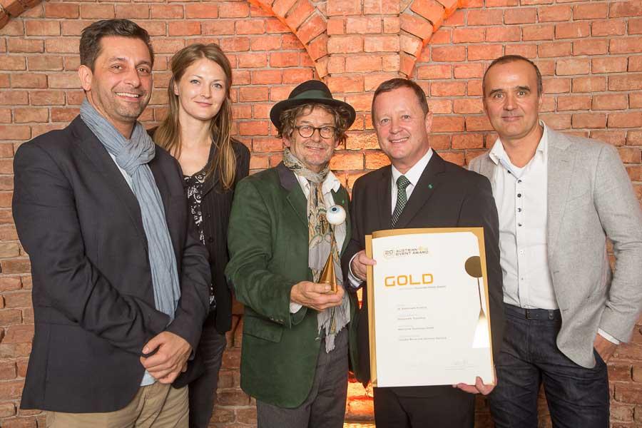 Gold für Steiermark Tourismus bei Austrian Event Award