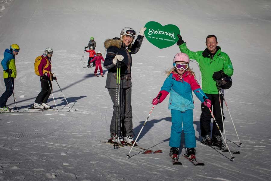 Erfolg für erstes FamilienSkiFest Steiermark