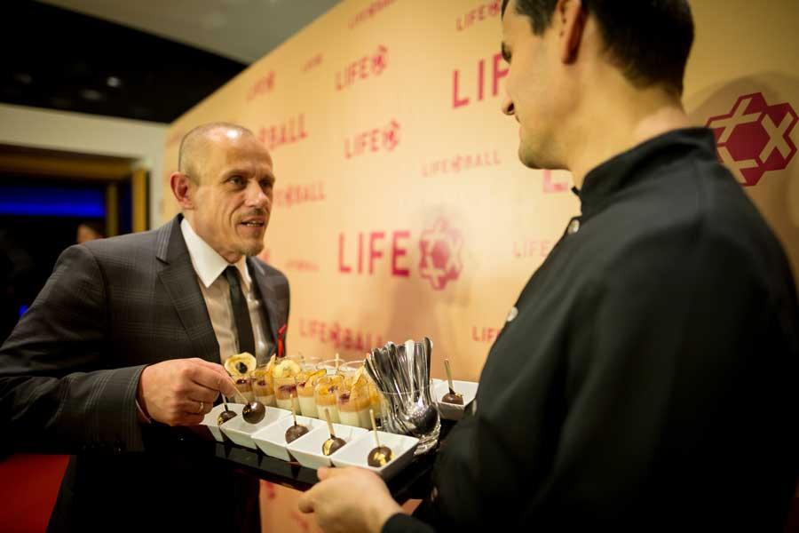Neues kulinarisches Konzept für Life Ball