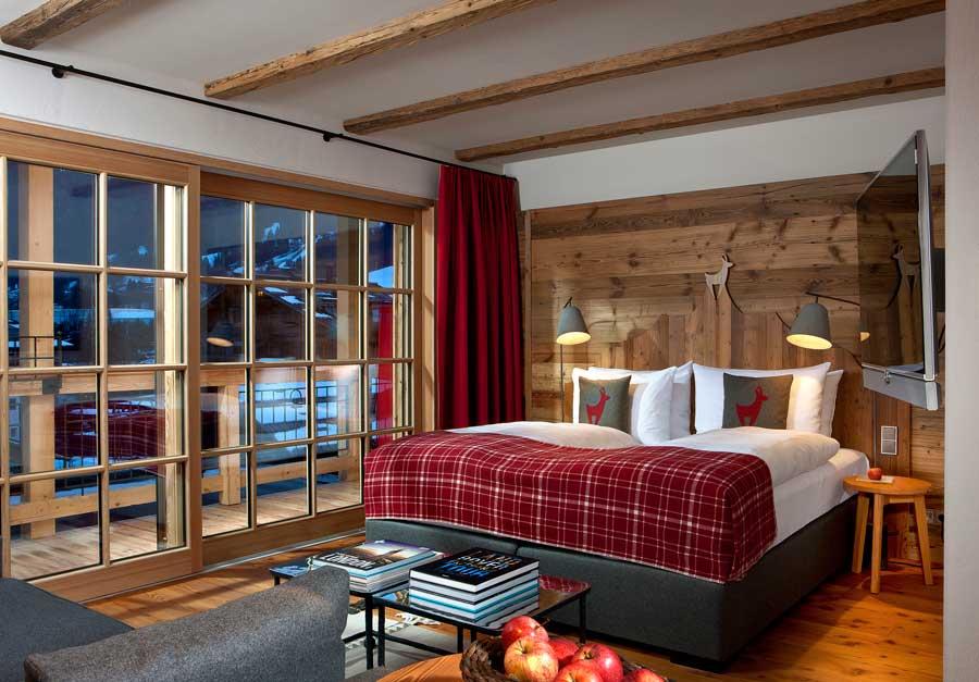Noch mehr komfort im hotel kitzhof kitzb hel gastro portal for Design alpenhotel