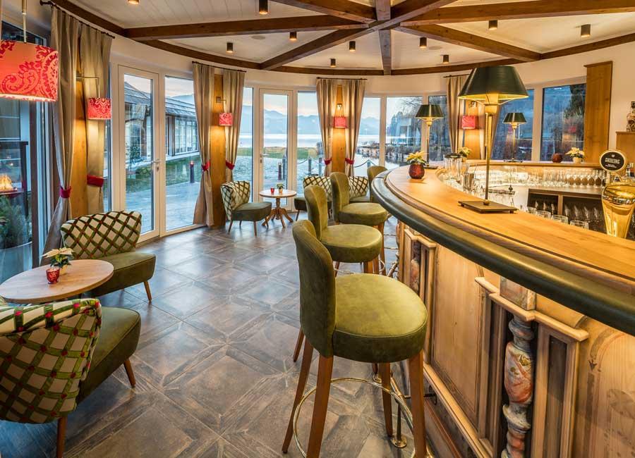 Neue Hafenbar für Romantik Hotel Seefischer