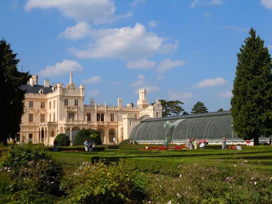 Niederösterreich und Südmähren Kooperation Gartentourismus