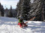 Zirbitzkogel: Mit dem Schlepplift den Berg hinauf rodeln